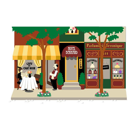 Cafe, Hotel & Parfumerie