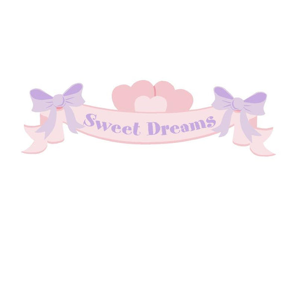 Sweet Dreams Banner Wall Mural