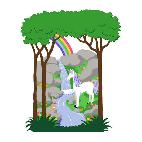 Unicorn & Rainbow-Small