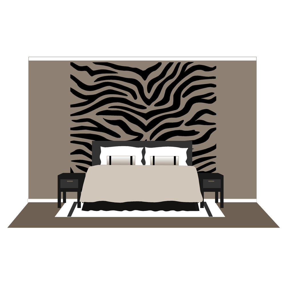 Trending Zebra Wall Decals Home Design 938