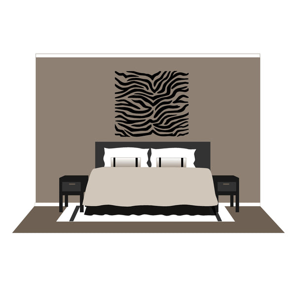 Zebra Stripes - Small Wall Mural