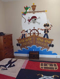 The Buccaneer Wall Mural