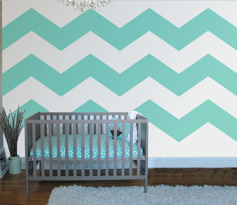 Chevron Three Wall Mural