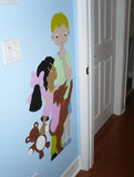 Clubhouse Kids Paint-by-Number Wall Mural