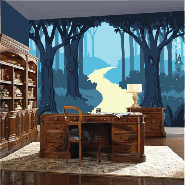 The Enchanted Forest Paint by Number Mural