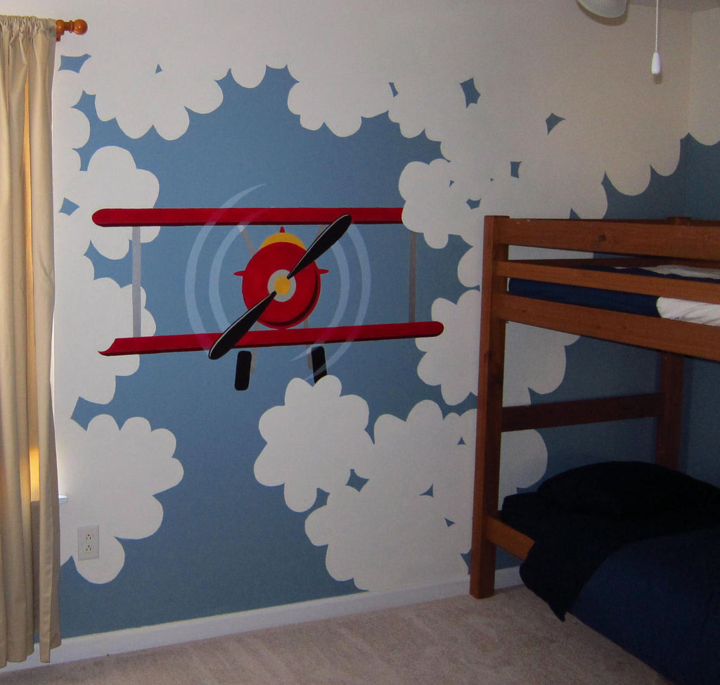 ... High Flyer Paint By Number Wall Mural ...
