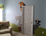 The Menagerie of Doorhuggers Wall Mural