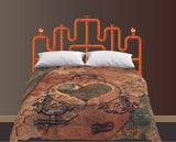Pipe Dreams Queen Bedhugger Paint-by-Number Mural