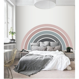 Rainbow - Large Paint-by-Number Wall Mural