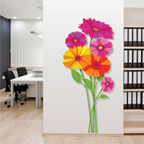 Spring Bouquet Paint-by-Number Mural