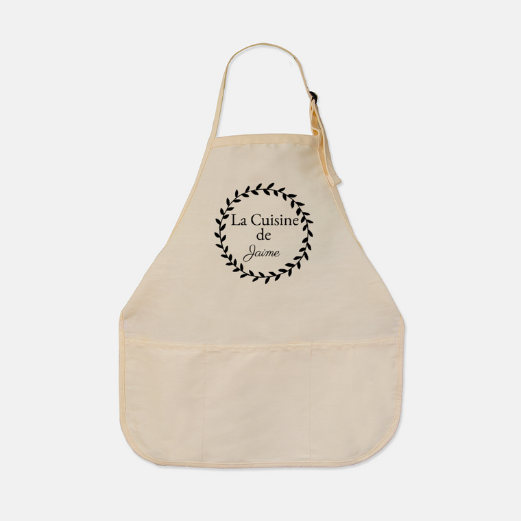 Personalized French Farmhouse Apron