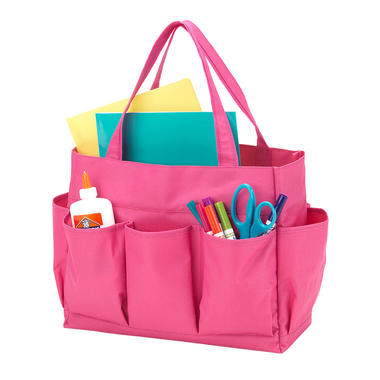 Pink Carry All Tote For Teachers and Gardeners