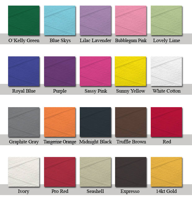 Thread Color Chart