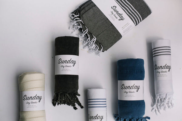 Turkish Towels- Sunday Dry Goods- Victoria BC