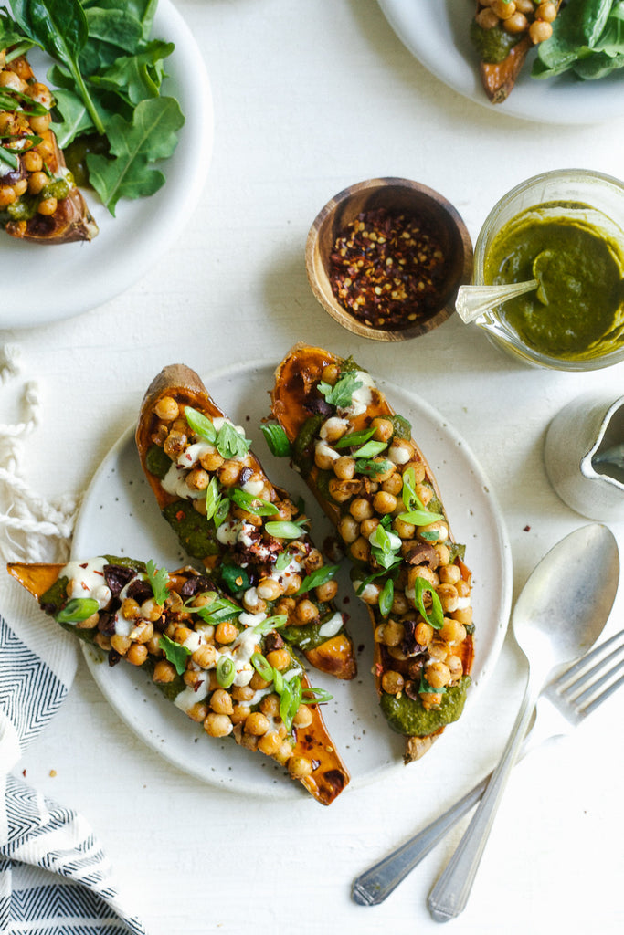 Sophie's Moroccan Sweet Potatoes