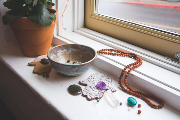 shanti collective mala necklace