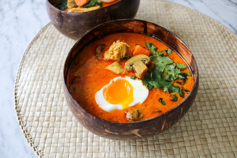 Fiery Coconut Curry Soup