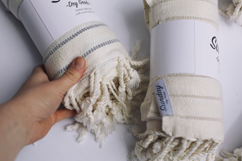 Why is everybody talking about Turkish towels? - James Turkish towel- Sunday Dry Goods- Picot Collective- Victoria BC