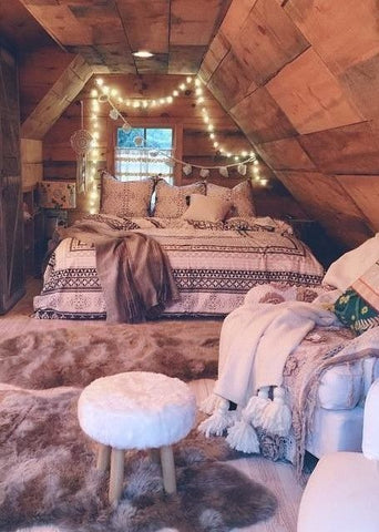 cozy fall bedroom