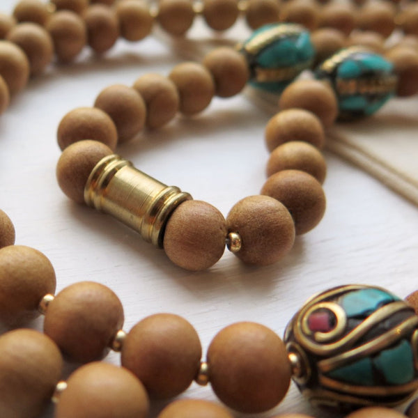 shanti collective mala beads