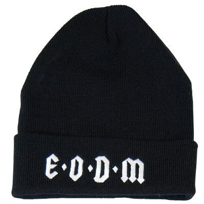 EODM EMBROIDERED BEANIE BL OS