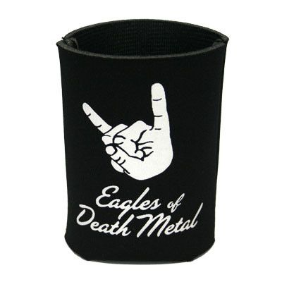 Beer Me Koozie Black