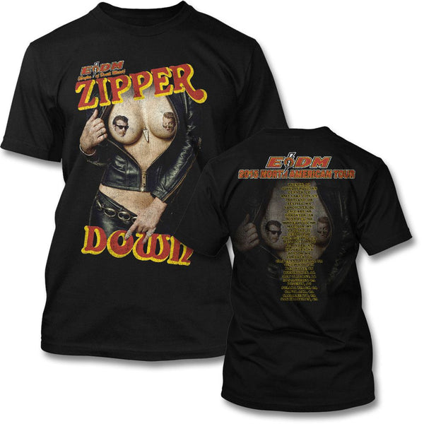 Eagles Of Death Metal Zipper Down tour T-shirt