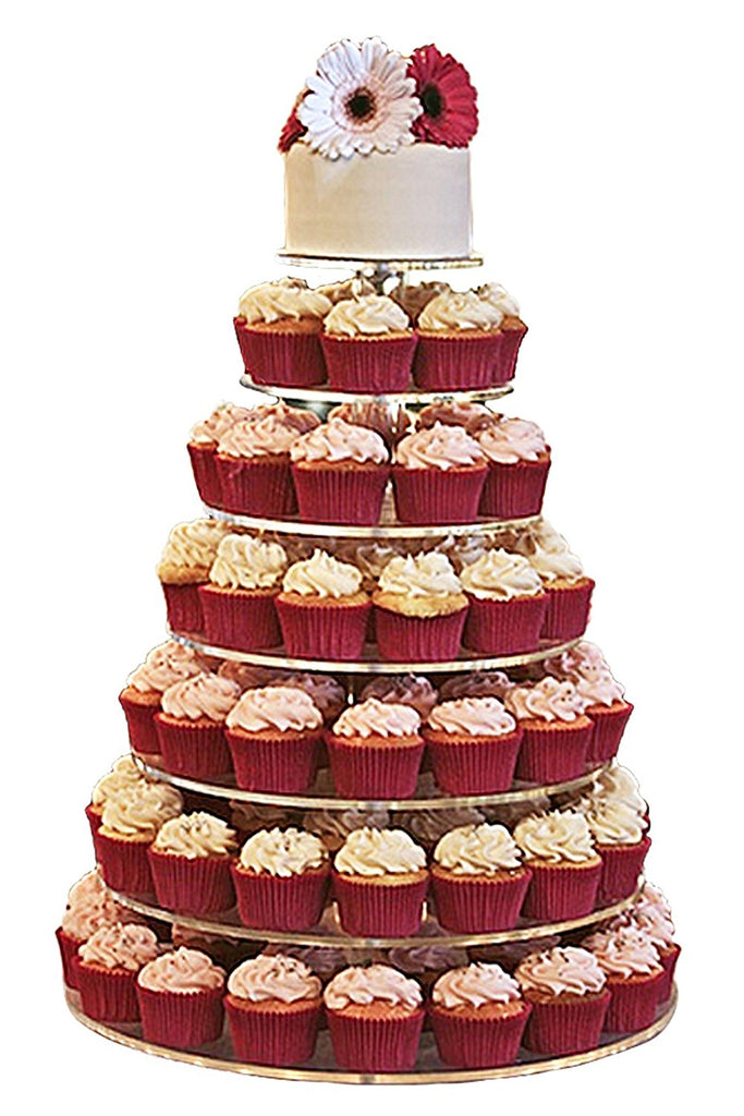 cupcake wedding cakes stands jusalpha 174 7 tier wedding acrylic glass cupcake 3234