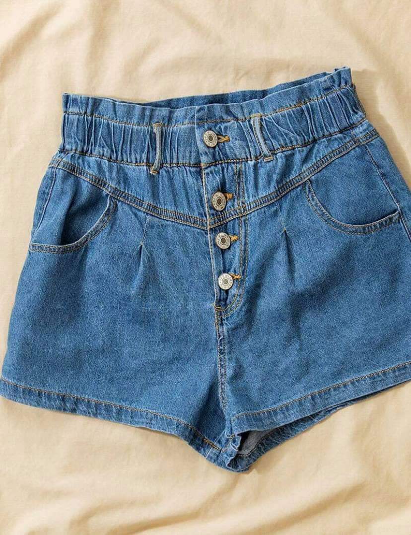 Shopping Spree Denim Shorts