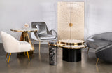 J-203A-London Coffee Table in Black and Gold