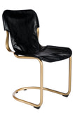 14S01012G-Eddie Dining Chair in Brass