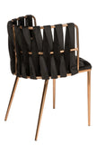 1538DC-BLK-Milano Dining Chair in Black