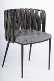 1538DC-GRY-Milano Dining Chair in Gray