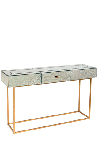 15SH099-Dailyn Mirrored Console Table