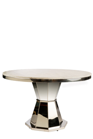 2018103-Lolin Marble Top Dining Table-PRE-ORDER