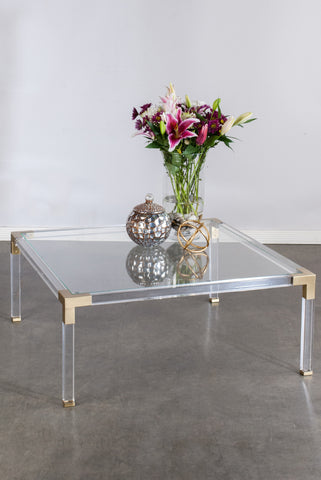 39431-Lucia Acrylic Coffee Table