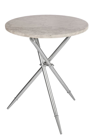 T-2946S-Ethelle Marble Side Table