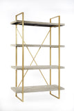 6B2083WD-Emma Bookshelf in white