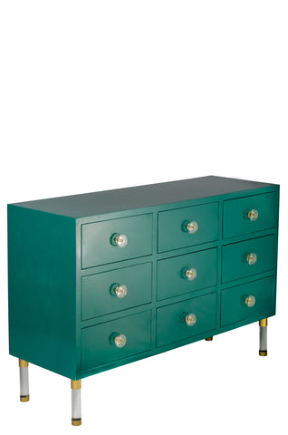 7AD1140-G-Carly Console in Green