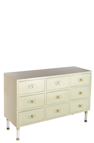 7AD1140-W-Carly Console in White