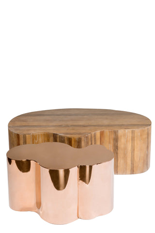 Set of 2 Kate and Portia Grande Coffee Table Set