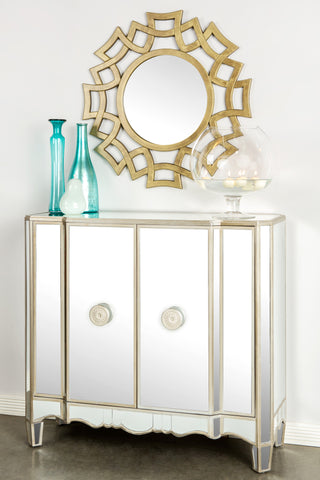 F20761-Matteo Mirrored Cabinet