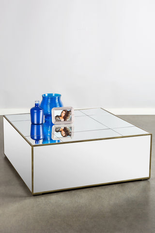 F25599-Lukas Mirrored Coffee Table