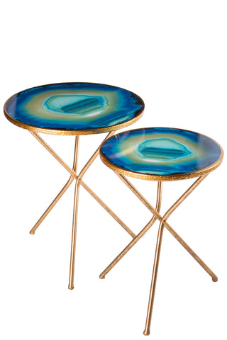 FB-1006-2-Set/2 Agate Nesting Tables