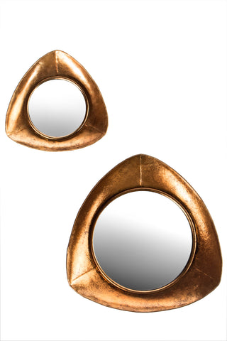 FB-1009-COPR2-Set/2 Copper Mirrors