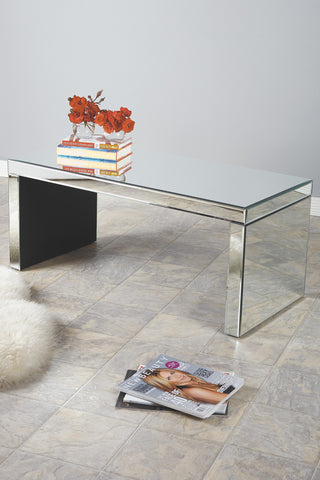 FU0069-Bridget Mirrored Coffee Table