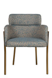 GH13-012-Marseille Dining Chair in Teal