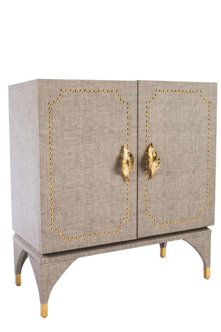 GZ186010-Feuille Studded Cabinet