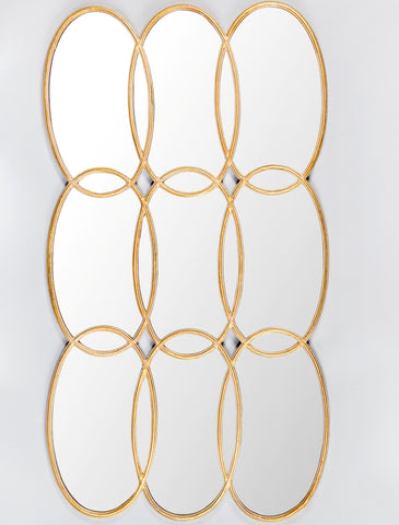 HW1610G-Oversized Circles Mirror