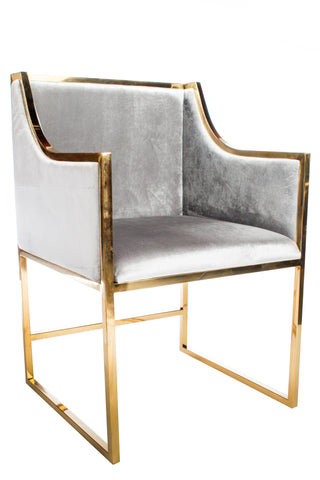 J-104-Erin Gold Dining Chair